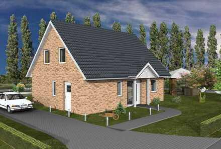 Großzügiges Einfamilienhaus in KfW-55-Bauweise mit Wärmepumpe und Be-/und Entlüftungsanlage