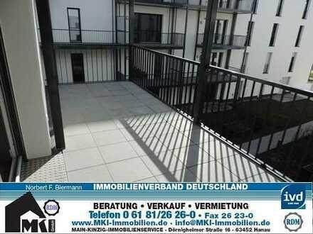 Neubau-Erstbezug, 3 Zimmerwohnung mit EBK, Balkon u. TG mit E-Ladestadion