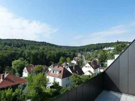 Exklusive 5 1/2-Zi.-Maisonette-Wohnung. Exclusive top floor apartment at best location