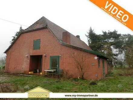 RESERVIERT ***Bauernhaus mit Nebengebäude und Ackerfläche bei Varrel zu verkaufen***