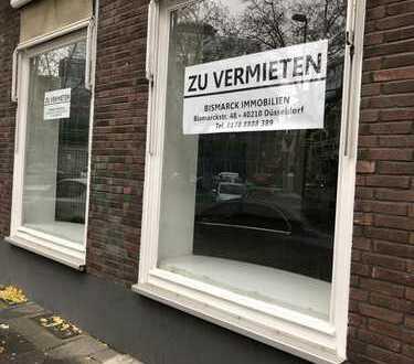 Großzügiges Ladenlokal direkt auf der Stresemannstraße in Düsseldorf !