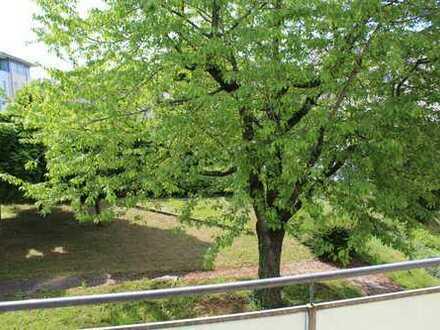 Renovierte großzügige ruhige 2-Zimmer-Wohnung mit Süd-Balkon und Einbauküche in Vaihingen an der Enz