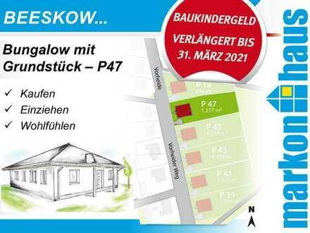 Beeskow - Bungalow mit Grundstück P47