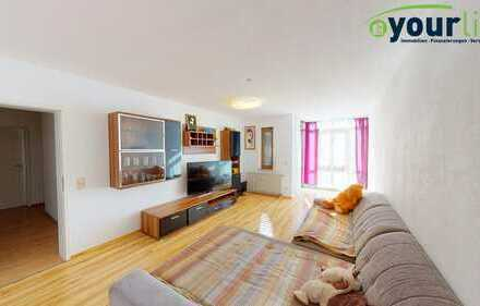 Gut geschnittene 4-Zimmer-Wohnung in Kaufbeuren