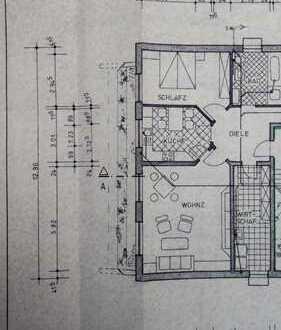 Bezugsfertige, schöne geräumige zwei Zimmer Wohnung in Borken (Kreis), Raesfeld