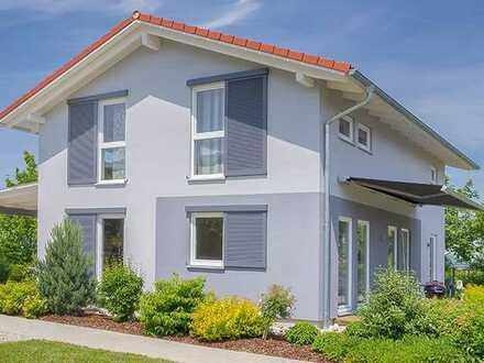 *Familienglück* Neubau Einfamilienhaus auf Bodenplatte mit Carport & schöner Einbauküche