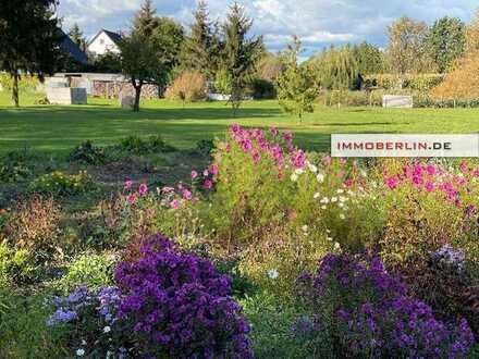 IMMOBERLIN. DE - Schönes Baugrundstück in ländlicher Region bei Nauen