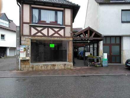 Kleines Ladengeschäft mit Zusatzraum Nähe Deidesheim Weinstraße Pfalz