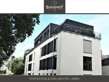 Frankfurt - Eschersheim: Moderne und lichtdurchflutete 3-Zimmer Neubau-Wohnung
