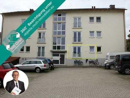 Solide KAPITALANLAGE in Murnau, sehr zentrale Lage. Vermietetes 1-Zi. APP im Erdgeschoss.