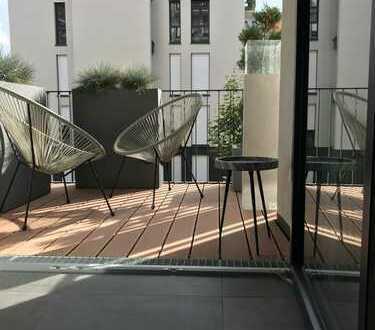 Exklusive, neuwertige 2-Zimmer-Wohnung mit Balkon und EBK in Fürth