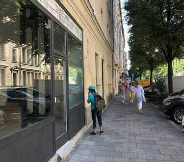Laden/Büro/Gastro mit Wohnung in guter Lage