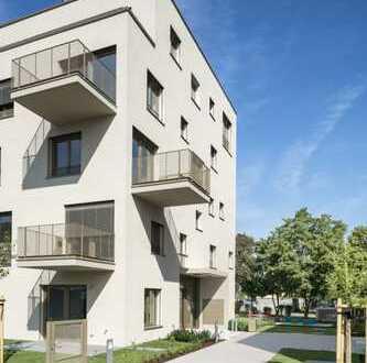 Neubau-Erstbezug: HOMERUN - Großzügige 4-Zimmerwohnung mit Fernblick