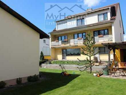Großes Grundstück mit 3-Familienhaus und seperatem Bungalow mit Garten in Pfeddersheim