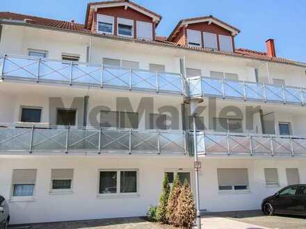 Kapitalanlage: Vermietete 1-Zi.-ETW mit Balkon in zentraler Lage von Östringen