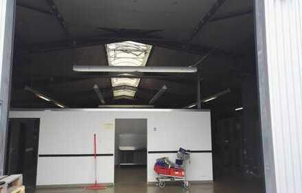 Gewerbehalle mit ca. 405 und 635 qm zu vermieten