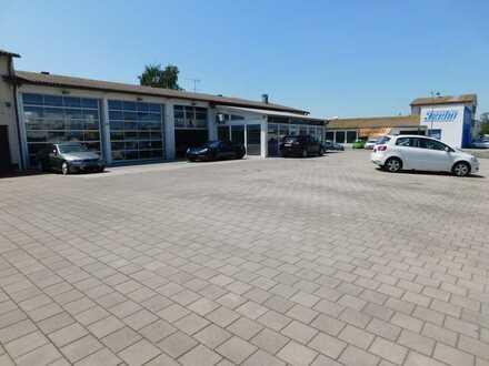 Top Gewerbeobjekt in Singen Gewerbegebiet mit Büros/Halle/Werkstatt/Lager!