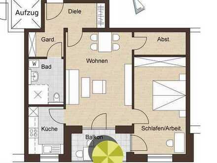 Zu Vermieten - Betreutes Wohnen in Kelheim, Mitterfeldstraße - 2-Zi.-Wohnung