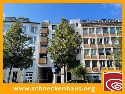 WHG4! Fest vermietetes Single-Appartement mit Balkon in exzellenter Viertel- / und Stadtnähe!