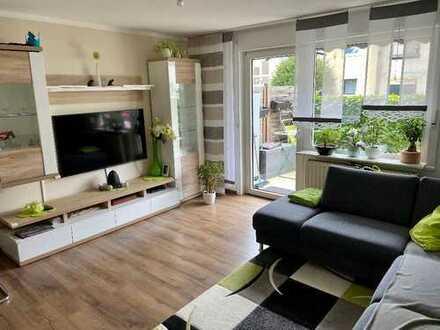 Modernisierte 3 Zimmer Gartenwohnung in Ober-Erlenbach sucht kleine Familie