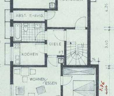 Vollständig renovierte 2-Zimmer-Wohnung mit Terrasse, Einbauküche in Weissach im Tal
