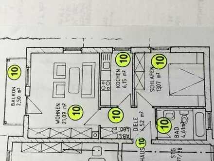 Schöne 2-Zimmer-Wohnung mit Balkon und EBK in Abensberg