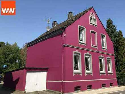 Freistehendes geräumiges Ein- bis Zweifamilienhaus auf riesigem Grundstück in Dortmund-Schüren