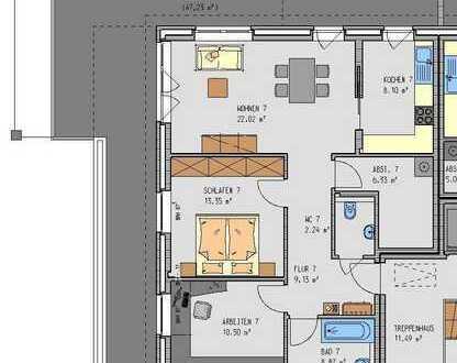 Gepflegte 3-Zimmer-Penthouse-Wohnung mit Balkon in Oldenburg