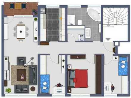 Top Wohnlage - neu renovierte 4 Zimmer Eigentumswohnung in Wertheim-am Main