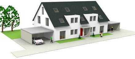 *NEUBAU 2020* Hochwertige 3-Zimmer Erdgeschosswohnung links mit Garten