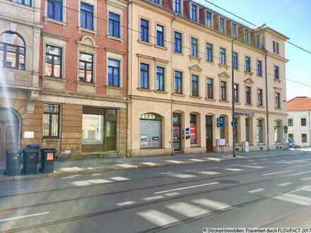Kleine Ladeneinheit mit Büro, Lager und WC in Dresden-Mickten