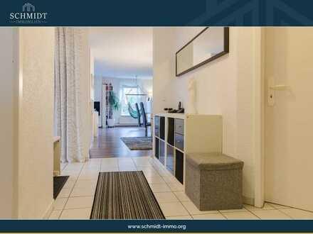 Wohnfreundliche 3,5 Zimmerwohnung mit Balkon, Einbauküche, Stellplatz und Keller.