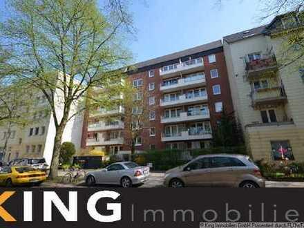**Barmbek-Uhlenhorst** - Schöne, möblierte 2 Zimmer-Wohnung in zentraler Lage - TG + Terrasse