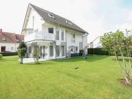 Gehobenes Wohnen mit Terrasse und traumhaftem Garten: 3-Zi.-ETW in Deidesheim in ruhiger Lage