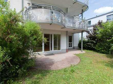 F-Niederursel: 3-Zimmerwohnung mit Gartenanteil Nähe Europäische Schule