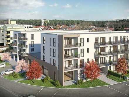 Familienfreundliche 4-Zimmer-Wohnung mit 2 Terrassen und 81m² Gartenfläche für sonnige Stunden