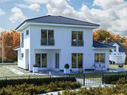 Nur noch einziehen? Neubau KFW55 Stadtvilla schlüsselfertig bauen in Braunschweig!