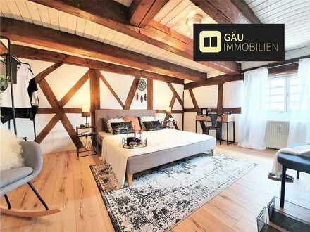 Denkmalgeschützt: 2-Zimmer Wohnung mit sehr hohem Wohnstandard in zentraler Lage in Malmsheim