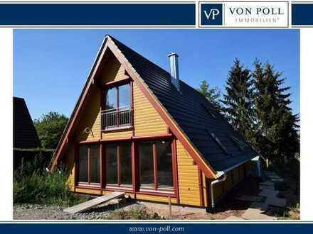 Charmantes Holzhaus in idyllischer Lage