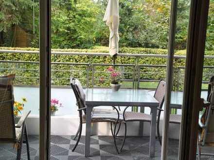 Moderne Maisonette-Wohnung mit Gartenanteil