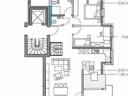 4-Zimmer-Maisonette-Wohnung mit Balkon in Planung, Stuttgart-Rohracker