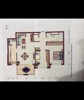 Neuwertige Wohnung mit drei Zimmern sowie Balkon und EBK in Sachsenheim