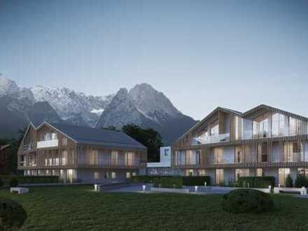 Exclusive Gartenwohnung Mountain Residences Garmisch