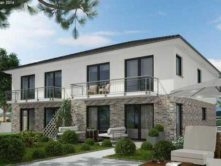 Moderne schlüsselfertige Doppelhaushälfte! Individuell planbar! Haustyp und qm anpassbar!