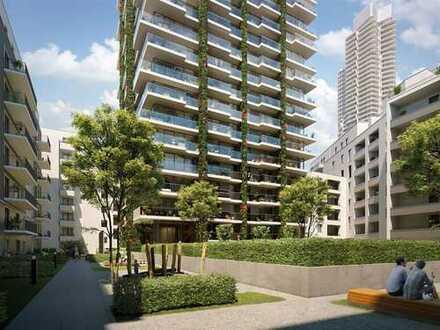 City-Wohntraum! Großzügige 2-Zimmer-Wohnung mit umlaufendem Balkon in bester Lage Frankfurt