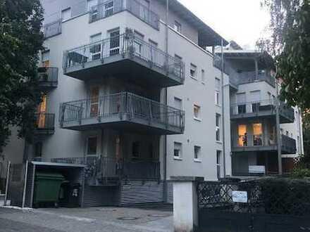 Gepflegte 2-Zimmer-Wohnung mit Aufzug, Balkon und Einbauküche in 1a Lage in Wiesbaden