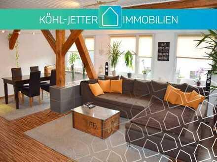 Mitten in der Stadt! Renovierte 3 Zi.-Whg. mit idealer Aufteilung in Balingen!
