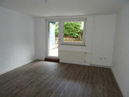 Frisch sanierte 3-Zimmer-Wohnung mit großer Terrasse!