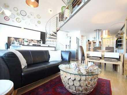 AnKaSa GmbH*Elsterloft*Maisonette zum Eigennutz*3 Zimmer+Galerie*2 Bäder*Balkon*Stellplatz mgl.