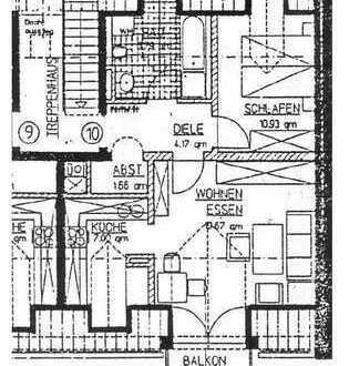 Gemütliche 3 Zimmer DG Wohnung im Mühldorfer Norden